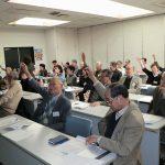 挙手による決定事項