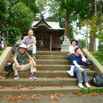 吉田神社にて安全祈願