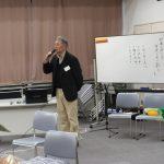 J-netと楽習会開催趣旨を説明する代表