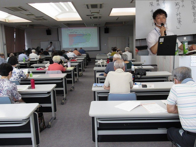 講師と講演の状況