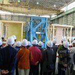 大型耐震実験施設見学