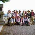 三峰神社前から太田市街をバックに 余力は充分