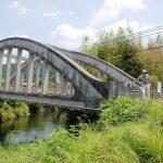 国有形文化財・土木学会遺産・茨城100名橋の眼鏡橋<央(なか)橋>(どこが眼鏡?フレーム形状?)