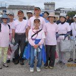 河原子海岸清掃グループ参加者