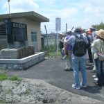 水田整備の竣功記念碑に感慨