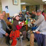 県北生涯学習センターにて昼食