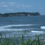 田尻海岸から小貝ケ浜方向を展望
