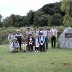 赤羽緑地公園で記念撮影