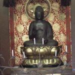 重要文化財に指定されている木造薬師如来座像