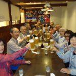 反省会 水戸駅ビルで、ビールが美味しい (いいねに+1)