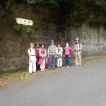 「万葉坂」で記念写真